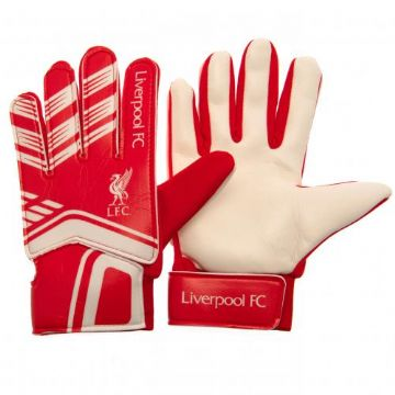 Liverpool FC Goalkeeper Gloves (Age 7-9)